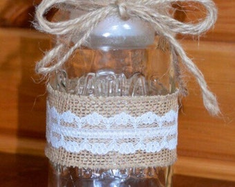 Rustic Mason Jar Wedding Decor