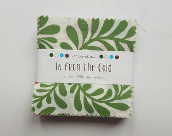 "In From the Cold 2.5"" Mini Charm Pack by Kate Spain for Moda, OOP and VHTF"