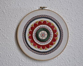 Embroidery hoop - Mandala