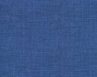 Free US Shipping/Screen Texture Print Quilting Sewing Fabric - Denim