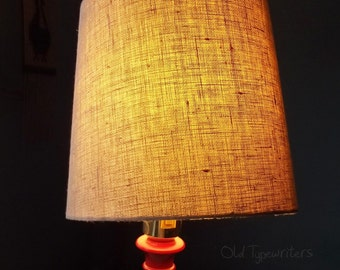 items similar to desk lamp paper mache geometric wooden desk light golden yellow and. Black Bedroom Furniture Sets. Home Design Ideas