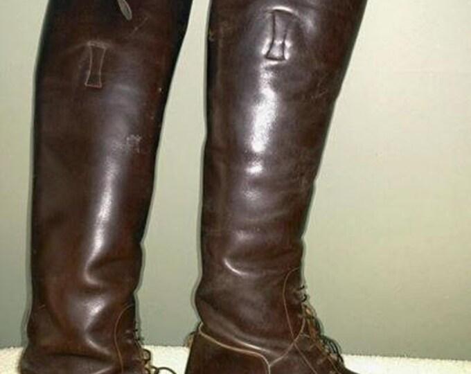 Ladies Vogel Brown Field Boots