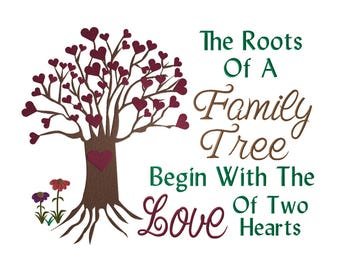 Roots Of Life & Saying- Digital Machine Embroidery Design