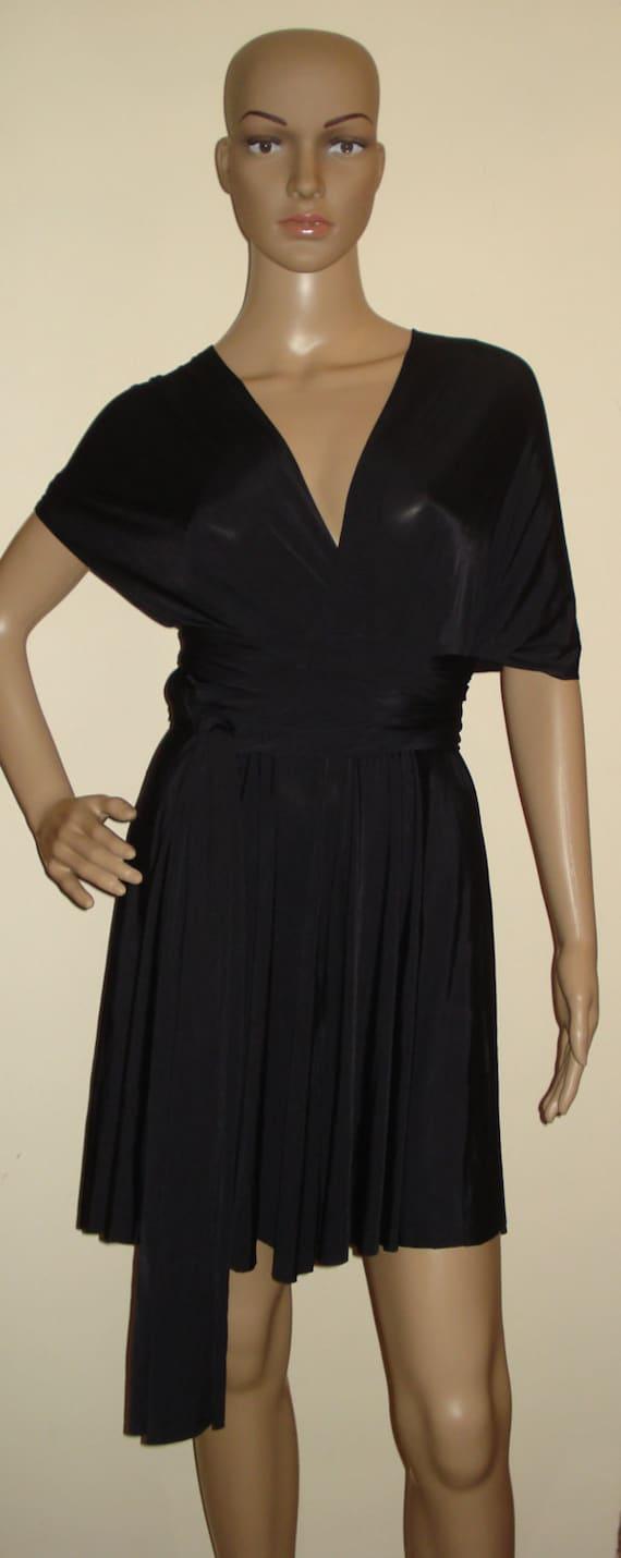 Black dress romper infinity
