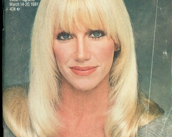 TV Guide March 14-20, 1981 Suzanne Somers Three's Company