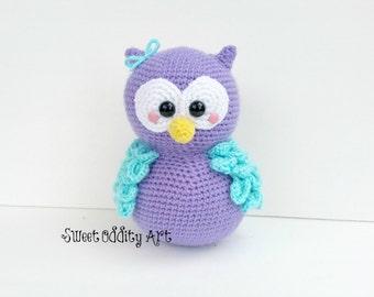owl crochet pattern, owl amigurumi, owl pattern, owl tutorial