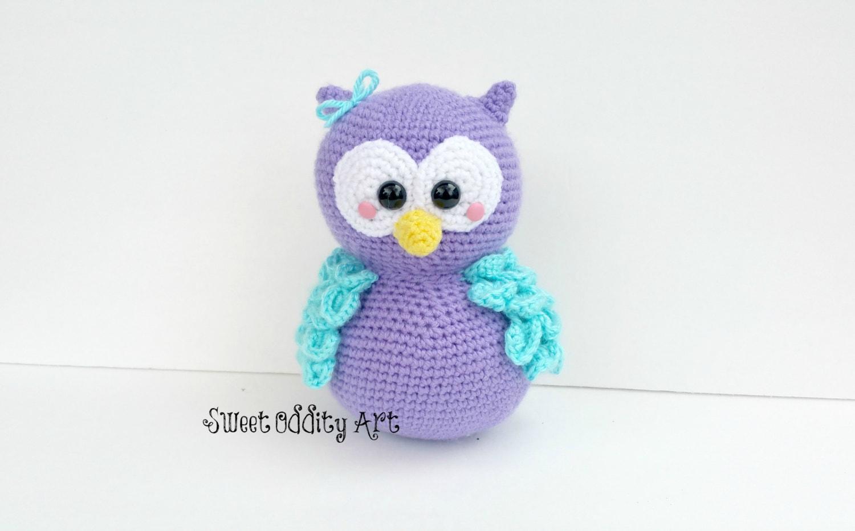 Amigurumi Tutorial For Beginners Owl : owl crochet pattern owl amigurumi owl pattern owl tutorial