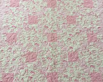Pink Disney Princess Baby Quilt
