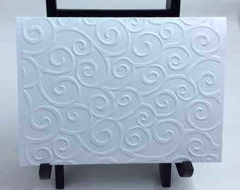 Embossed Swirl Pattern All-Occasion Card Set