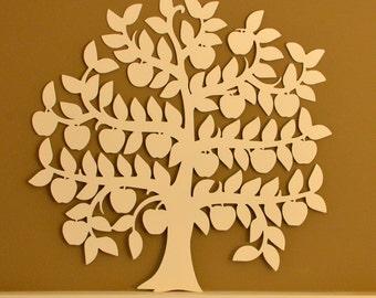 Apple Tree - Tree of Life Metal Wall Art