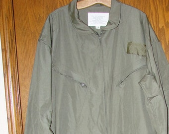 2XL MILITARY FLIGHT SUIT Very Cool Working Cover All and More
