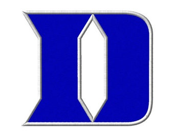 Duke University Blue Devils Embroidery File 7 SIZES!