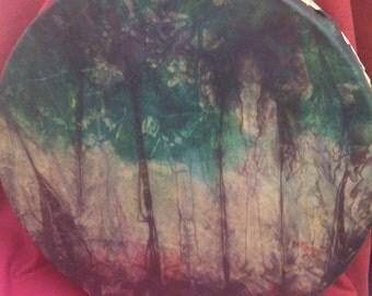 16' Shamanic Deer Skin Forest Drum
