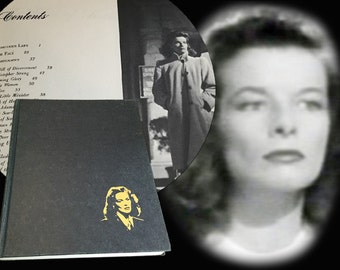 Photographic Biography The Films of Katharine Hepburn, Great Photos, Published in 1971