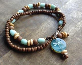 Bohemian bracelet beaded bracelet boho chic bracelet gypsy womens jewelry boho chic jewelry rustic bracelet beach bracelet hippie bracelet
