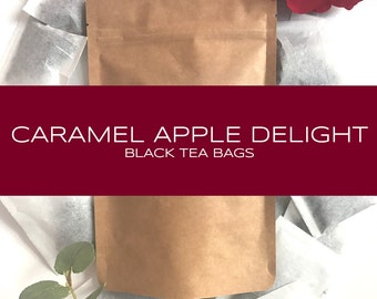 Caramel Apple Delight Black Tea Bags