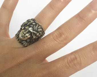 Medusa - Sterling Silver Ring