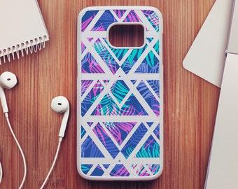 Palm Tree Samsung Galaxy S7 Case, Geometric Samsung Galaxy S6 Case, Palm Tree Samsung Galaxy S5 Case, Samsung Galaxy S4 Case