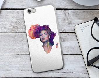 African iPhone Case - Africa iPhone Case - Africa's Map - African Art - Africa - African - iPhone 7 Case - iPhone 6 Case - iPhone Case