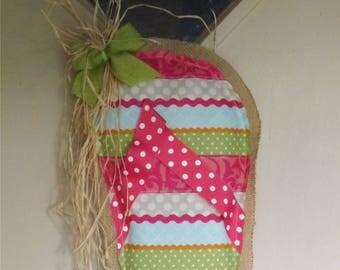 Flip Flop Summer Burlap Door Decoration Hanger