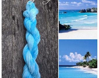 Caribbean hand-dyed cotton yarn