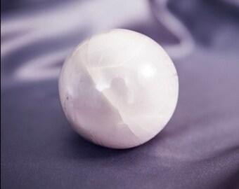 Selenite Crystal Ball