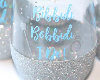 Disney Wedding / Disney Bride / Disney Bachelorette / Bibbidi Bobbidi I Do / Cinderella Wedding / Fairytale Wedding / Disney Bridal Shower