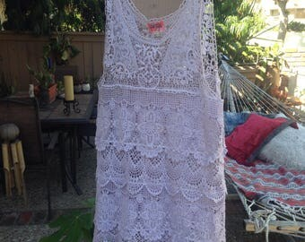 Vintage FREE PEOPLE mini dress/tunic