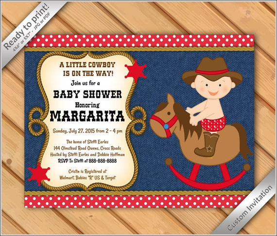 50 off sale cowboy baby shower invitations western boy invite il570xn solutioingenieria Choice Image