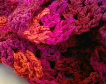 Chunky Infinity Scarf Handmade. Able to ship within 5 days.