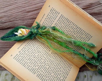 Woodland fairy bookmark , from the forest