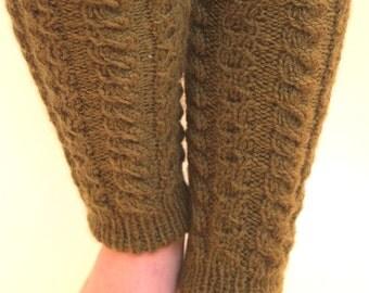 Ready to ship- Leggings children hand-knitted- Baby yoga/ballet socks - Gaiters toddler - Children - Legwear