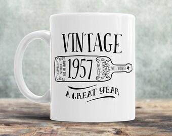 60th Birthday, 60th Birthday Gift, 60th Birthday Idea, Vintage, 1957, Happy Birthday, 60th Birthday Present for 60 year old!