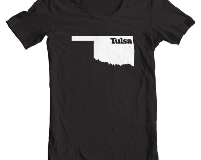 Tulsa Oklahoma T-shirt - My State Tulsa Oklahoma T-shirt