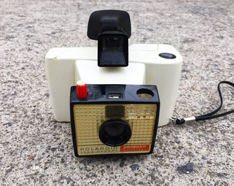Vintage Camera Polaroid Camera Polaroid Swinger Model 20 Land Camera Photo Prop