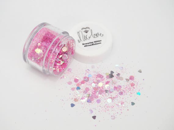 Flamingo Pink Cosmetic Face Glitter