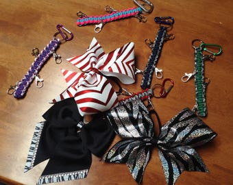 Cheer Bow Holder-Lot of 3 single Bow holders  Ships free to U.S. 50 States.