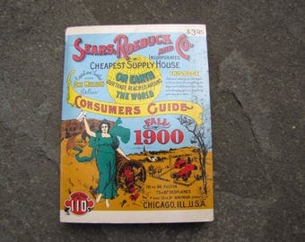 Sears, Roebuck and Co. Catalogue, Miniature Reproduction 1900 Sears Catalogue, Sears Catalogue, Sears 1900 Catalogue, 1900 Consumers Guide
