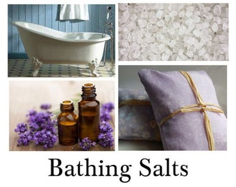 Bathing Salts - Wonderful Collection of 100% Natural Handmade Bathing Salts