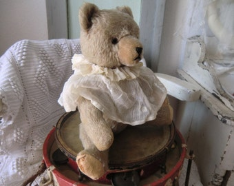 Vintage old charming Teddy Bär shabby old german teddy bear