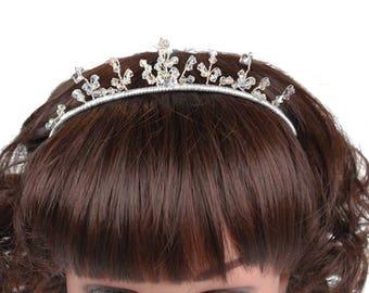 Children's Tiara, Wedding Headdress, Wedding Headband, Bridesmaid Headdress, Flower Girl Headdress