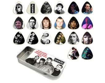Oasis Guitar Pick Gift Set - Set of 20