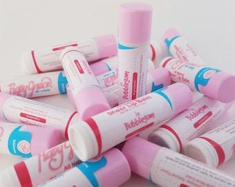 Lip Balm-All Natural Lip Balm-Bubblegum Lip Balm-Lip Gloss-Chapstick-Chapped Lips-Natural Chapstick-Handmade Lip Balm
