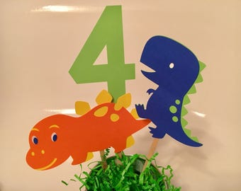 Dinosaur Table Centerpiece Set