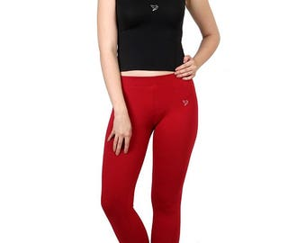 Twin Birds Brand Women's Cotton Leggings
