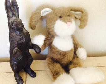 Boyds Bunny Plush, Stuffed Rabbit, Easter Toy Bunny
