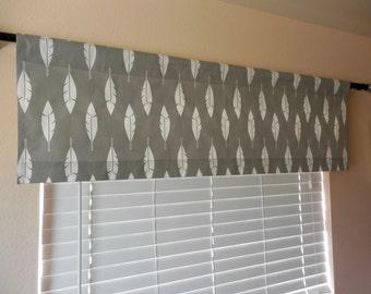 Window valance window topper feathers valance kitchen valance window treatment