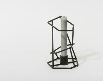 New metal candle holder handmade