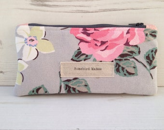 Notions pouch/small bag in Cath Kidston fabric