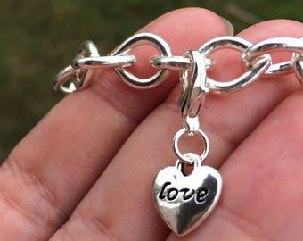 "Beautiful ""Love"" Charms"